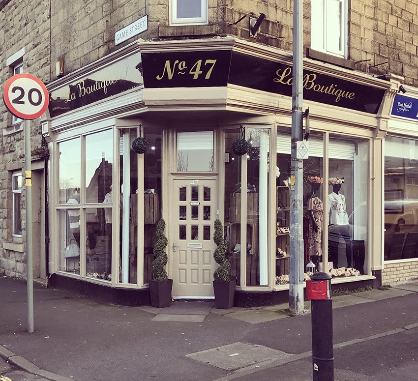 No 47 Laboutique Shop Front